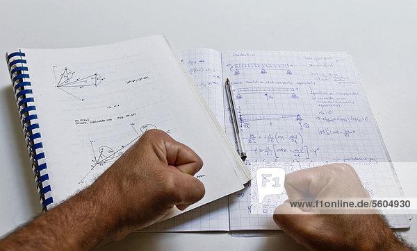 Studying physics  note