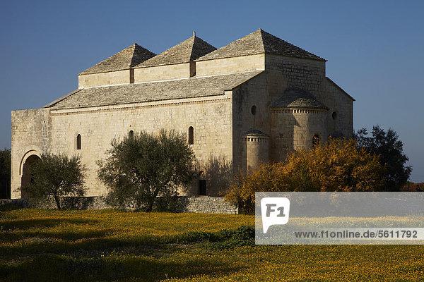Kirche Ognissanti di Cuti  Valenzano  Apulien  Italien  Europa