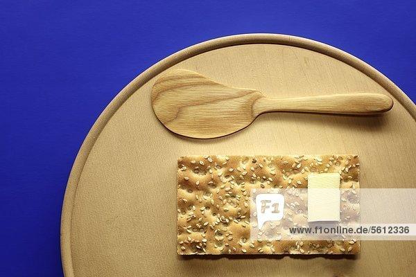 Holzbrett Brett Sesam Butter Knäckebrot Holzbrett,Brett,Sesam,Butter,Knäckebrot