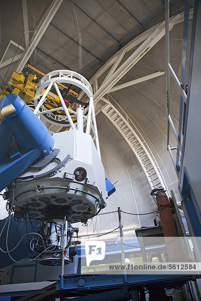 The 2.1-meter telescope at the Kitt Peak National Observatory  Sells  Arizona  USA - Property Release covering editorial use only
