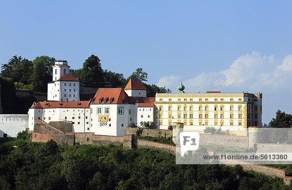 Veste Oberhaus  Passau  Niederbayern  Bayern  Deutschland  Europa  ÖffentlicherGrund