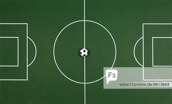Fußballplatz  Illustration