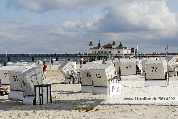Europa Strand Ostsee Baltisches Meer Deutschland Mecklenburg-Vorpommern