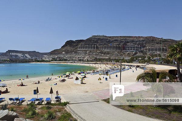 Playa Armadores  Puerto Rico  Gran Canaria  Canary Islands  Spain  Europe  PublicGround