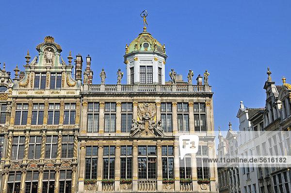 Europa Wohnhaus Brüssel Hautpstadt Quadrat Quadrate quadratisch quadratisches quadratischer Bäcker Belgien Grand Place