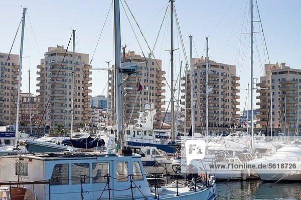 Ozean Boot Dorf Gibraltar