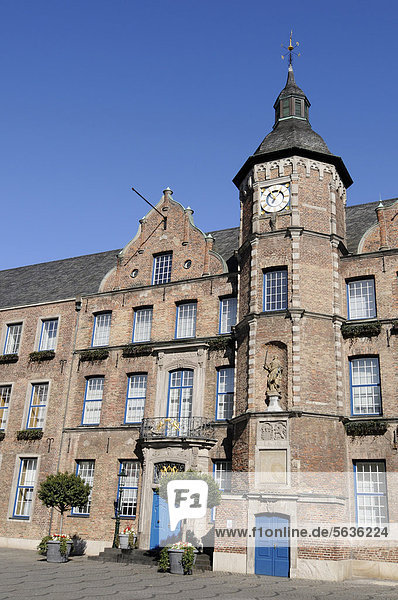Altes Rathaus  Düsseldorf  Nordrhein-Westfalen  Deutschland  Europa