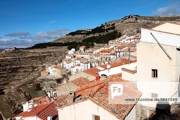 Ares del Maestrat  Els Ports  Castellon province Spain