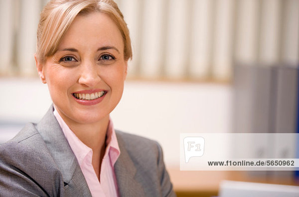Porträt einer weiblichen Führungskraft