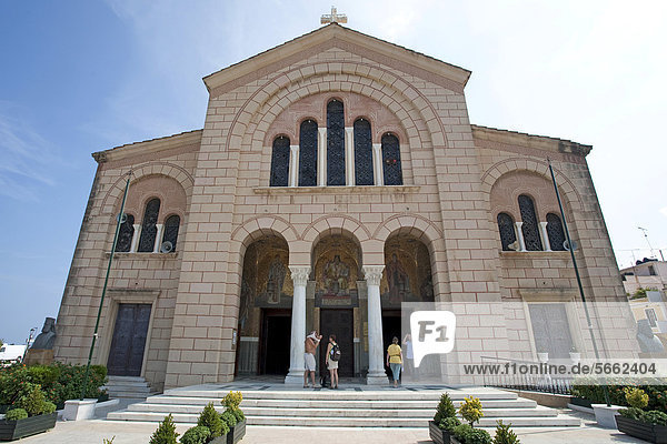 Kathedrale Agios Dionysios  Hauptort Zakynthos  Insel Zakynthos  Griechenland  Europa
