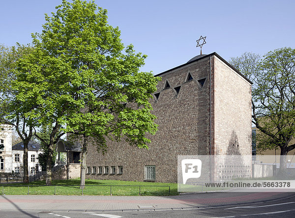 Neue Synagoge  Trier  Rheinland-Pfalz  Deutschland  Europa  ÖffentlicherGrund