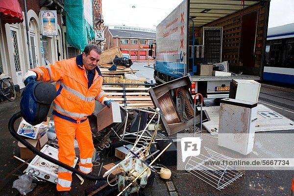 Amsterdam  Hauptstadt  Verschwendung  Elektrizität  Strom  Produktion  Kollektion
