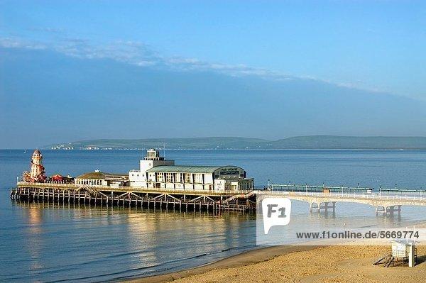Küste  Kai  Urlaub  Bournemouth  East Sussex