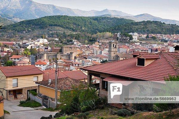 Arenas de San Pedro Ávila Castilla León Spain