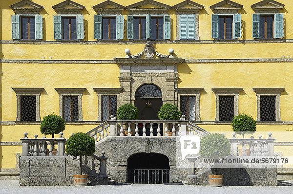 Schloss Hellbrunn  Salzburg  Österreich  Europa