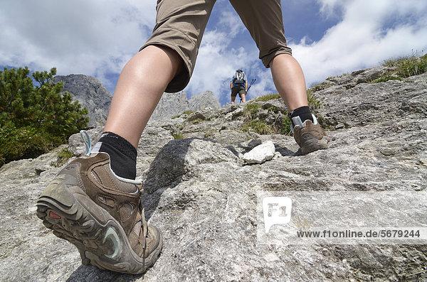 Europa  Berg  aufwärts  Ende  Lodge  Landhaus  wandern  Österreich  anhalten  Tirol