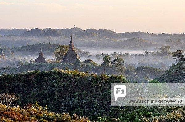 Morgen  Dunst  Myanmar
