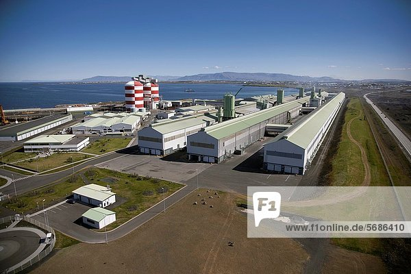 Aluminum Factory using geothermal energy  Iceland