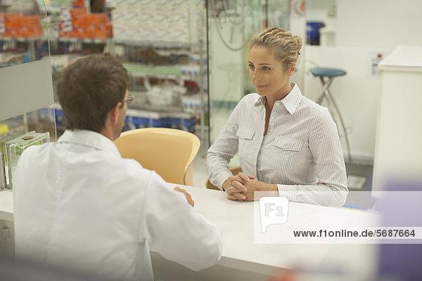 Patientin Rat Pharmazie