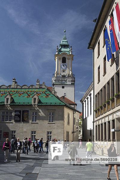 Old Town Hall of Bratislava  Slovak Republic  Europe
