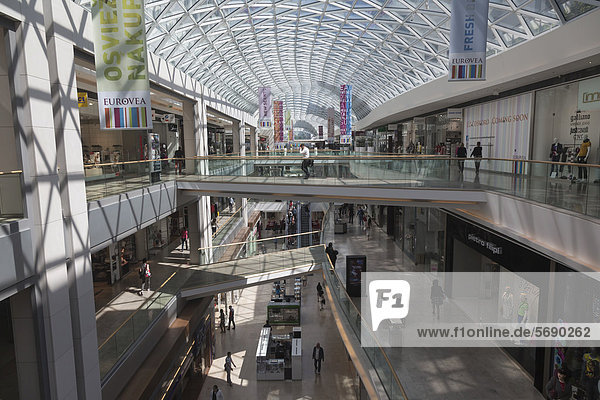 Eurovea Shopping Centre  Bratislava  Slovak Republic  Europe