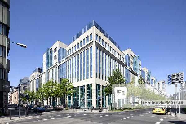 Bürogebäude Wilhelm-Leuschner-Straße  Frankfurt am Main  Hessen  Deutschland  Europa  ÖffentlicherGrund