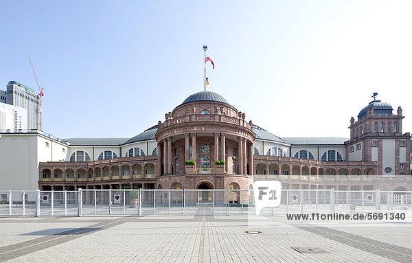 Festhalle Frankfurt  Veranstaltungs-  Kongress- und Messehalle  Messegelände  Frankfurt am Main  Hessen  Deutschland  Europa  ÖffentlicherGrund