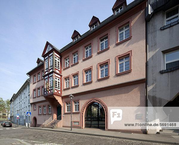 Ehemaliger Erbacher Hof  Bibliothek des Bistums Mainz  Bücherei am Dom  Mainz  Rheinland-Pfalz  Deutschland  Europa  ÖffentlicherGrund