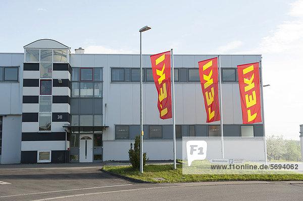 LEKI company building  Kirchheim unter Teck  Baden-Wuerttemberg  Germany  Europe
