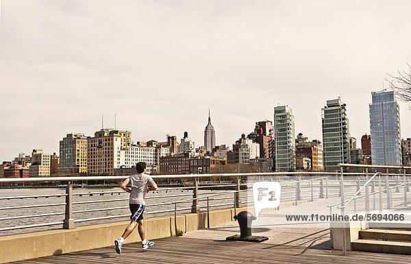 Vereinigte Staaten von Amerika USA New York City Empire State Building Manhattan