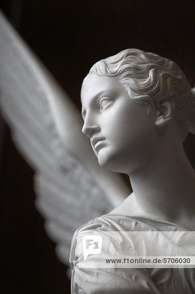 Marble statue of an angel