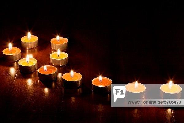 Dunkelheit  Kerze