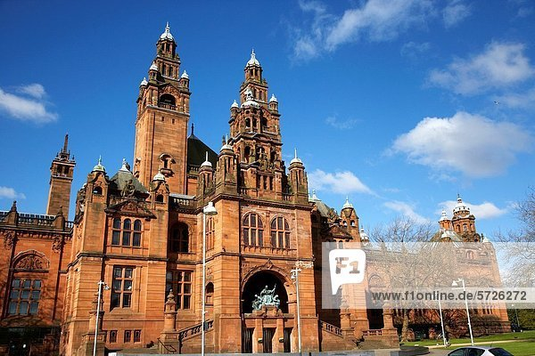 Kelvingrove art gallery and museum glasgow Scotland uk