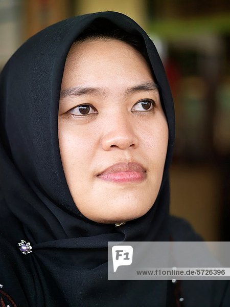 Portrait of a young Malaysian women