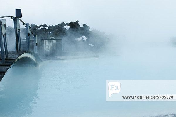 Blue Lagoon Geothermal Spa  Halbinsel Reykjanes  Island