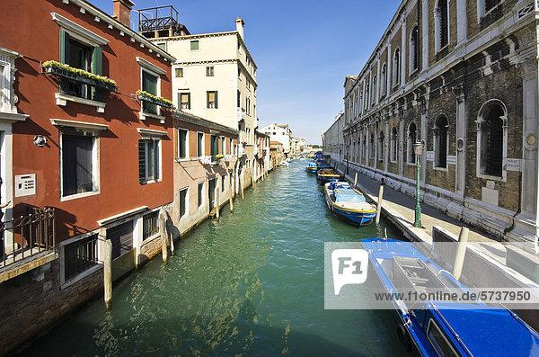 Europa Venedig Venetien Italien