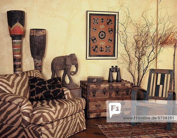 Afrika Wohnzimmer