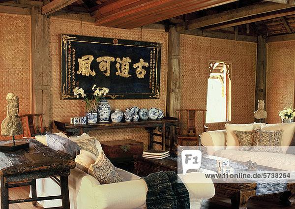 orientalisches wohnzimmer 008lit16118 agf foto lizenzpflichtiges bild f1online 5738264. Black Bedroom Furniture Sets. Home Design Ideas