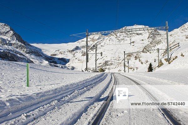 Alp Grum  Bernina Express  Schweiz