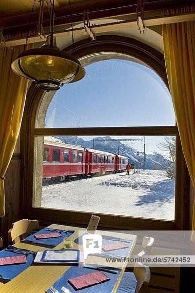 Alp Grum Resort  Bernina express  Schweiz