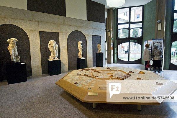 Civic Archäologisches Museum  Mailand  Italien