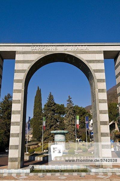 Main gate  Campione d'Italia  Italy