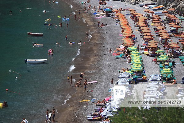 Amalfiküste Kampanien Italien Positano