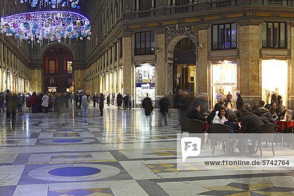 Nacht Kampanien Italien Neapel