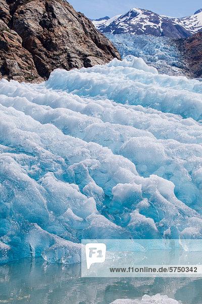 Blaues Eis am Tracy Arm Gletscher