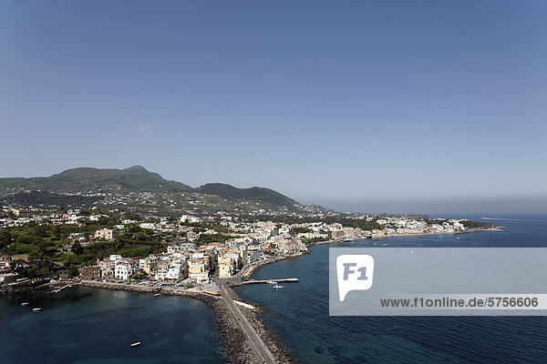 Europa Kampanien Golf von Neapel Italien