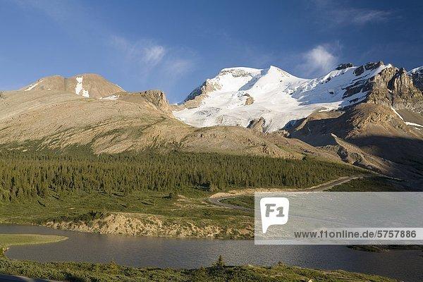 Mount Athabasca  Jasper Nationalpark  Alberta  Kanada.