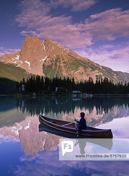 Emerald Lake  Yoho Nationalpark  Britisch-Kolumbien  Kanada.