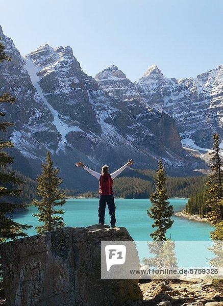 Moraine Lake  Banff Nationalpark  Kanada