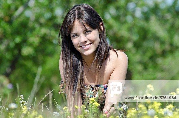 Entspannung  sehen  Mädchen  Aragonien  hübsch  Spanien